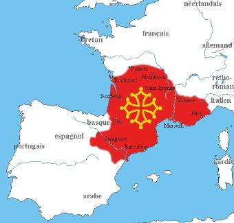 mapa lengua occitano