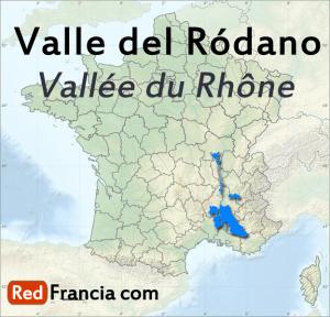 Región vinícola Valle del Ródano - RedFrancia.com