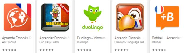 aplicaciones para aprender francés