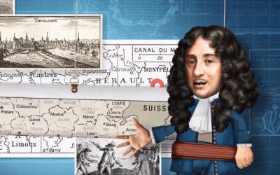 Franceses ilustres, Pierre-Paul Riquet el arquitecto del Canal du Midi