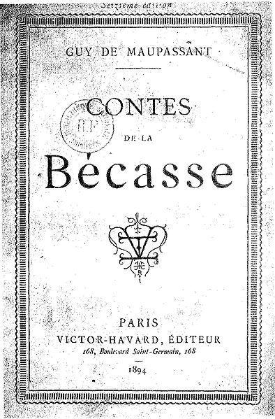 Libros en Francés: Cuentos de la Becasse – Contes de la Becasse