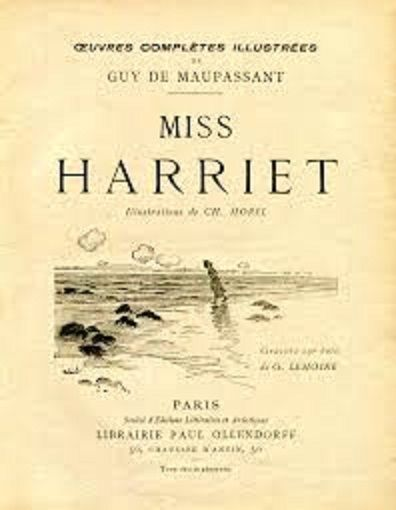 Libros en Francés: La señorita Harriet – Miss Harriet
