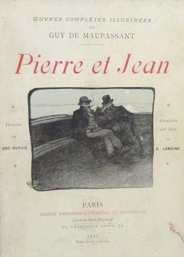 libro en frances pierre et jean - Guy de Maupassant